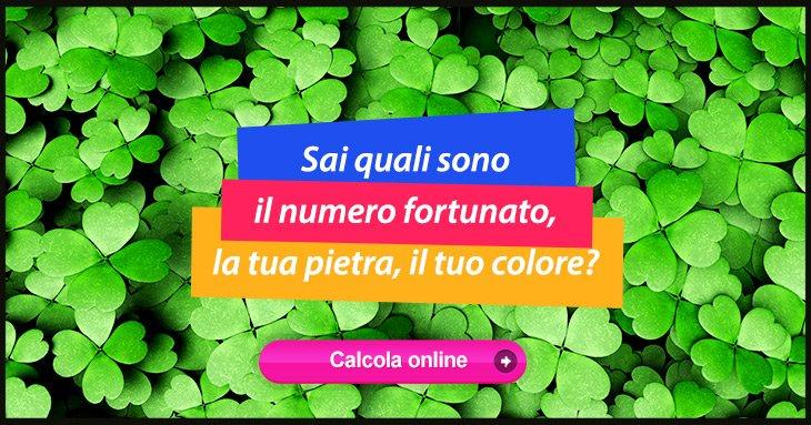 Calcola online il tuo numero fortunato in base alla tua - Colore per numero stampabili ...