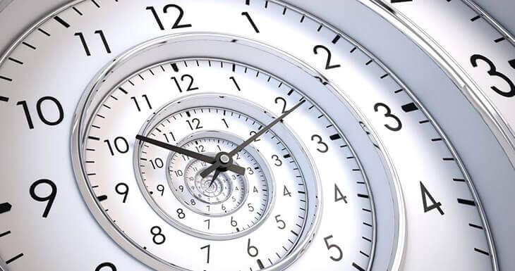 quanto tempo passa?